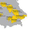 Verteilgebietskarte Bayern
