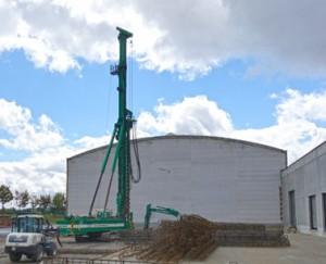 Baubeginn bei Bagel Roto-Offset Neue Flächen für die 96 Seiten Rollenoffsetrotation in Meineweh